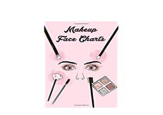 [E.B.O.O.K] LIBRARY Makeup Face Charts Blank Practice Paper Chart Workbook for Profebional Makeup Artists ([Read]_online)