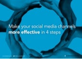 Make your social media channels more effective in 4 steps