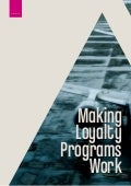 Making Loyalty Programs Work