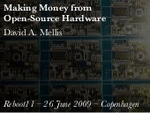 Making Money From Open Source Hardware