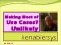 Making most of use cases --UNLIKELY