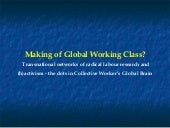 The Making of the Global Working Class