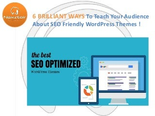 How To Make Search Engine Friendly Custom WordPress Theme