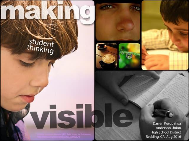 Making Student Thinking Visible v3.7