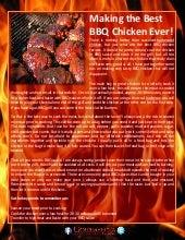 Making the best bbq chicken ever