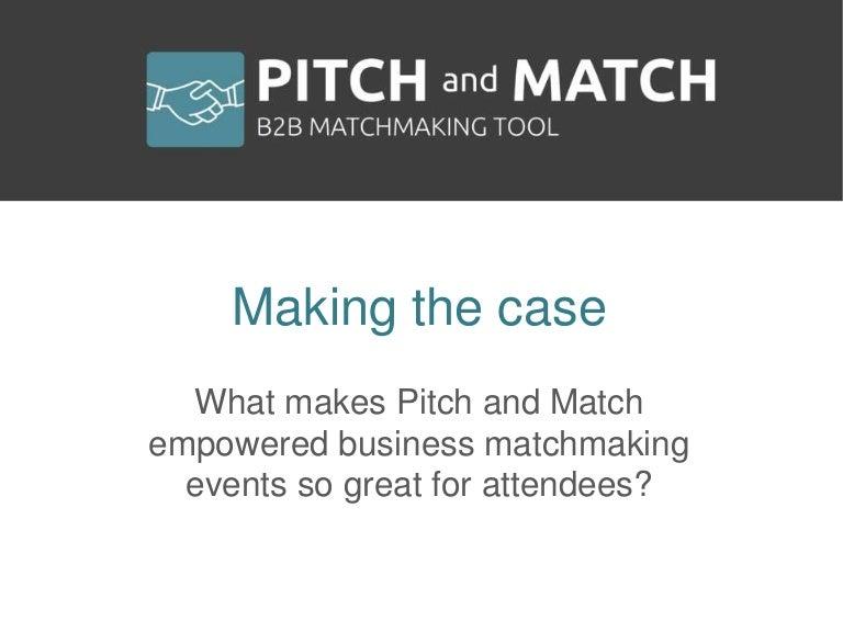 b2b business matchmaking