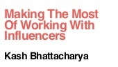 Making the most of working with Influencers