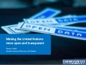 Making the United Nations more open and transparent - Thomas Melin