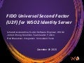 WSO2 Guest Webinar: FIDO Universal Second Factor (U2F) for WSO2 Identity Server