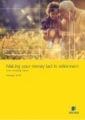 Making your money last in retirement  - Aviva's longevity report