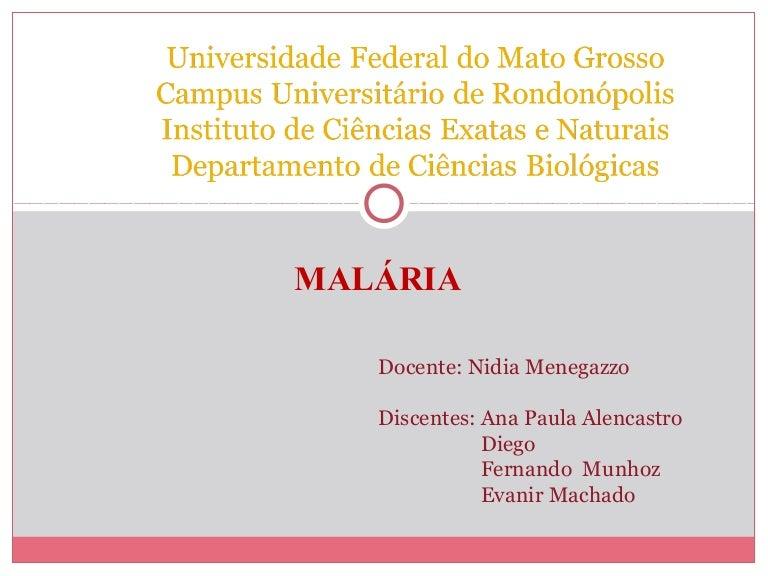 röviden a malária plazmodium kialakulása