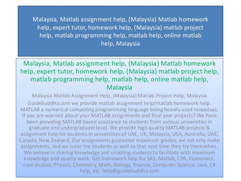 Assignment Help Malaysia: Study Questions Helper @49% off