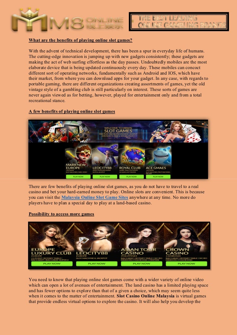 Malaysia Online Slot Game Sites Slot Game Online For Mobile Malaysia
