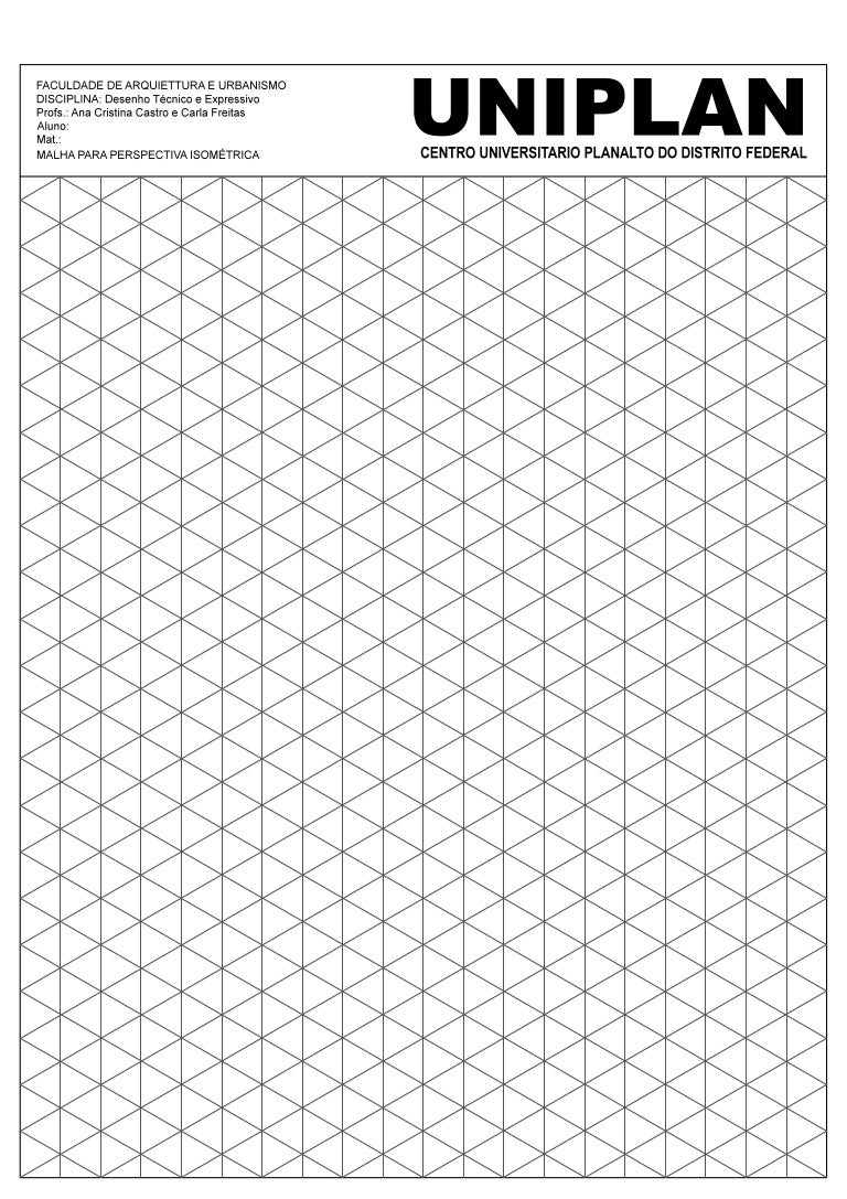 Malha isometrica1 - Papel para dibujar ...