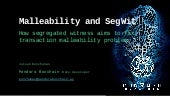 Malleability and SegWit