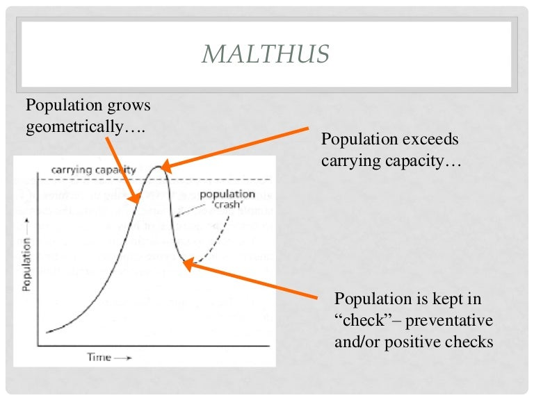 the malthusian theory of population