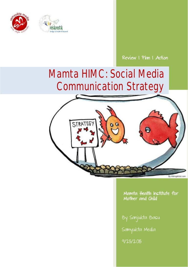 Mamta HIMC Social Media Communication Strategy by Samyukta Media