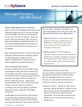 Managed Services for Cloud