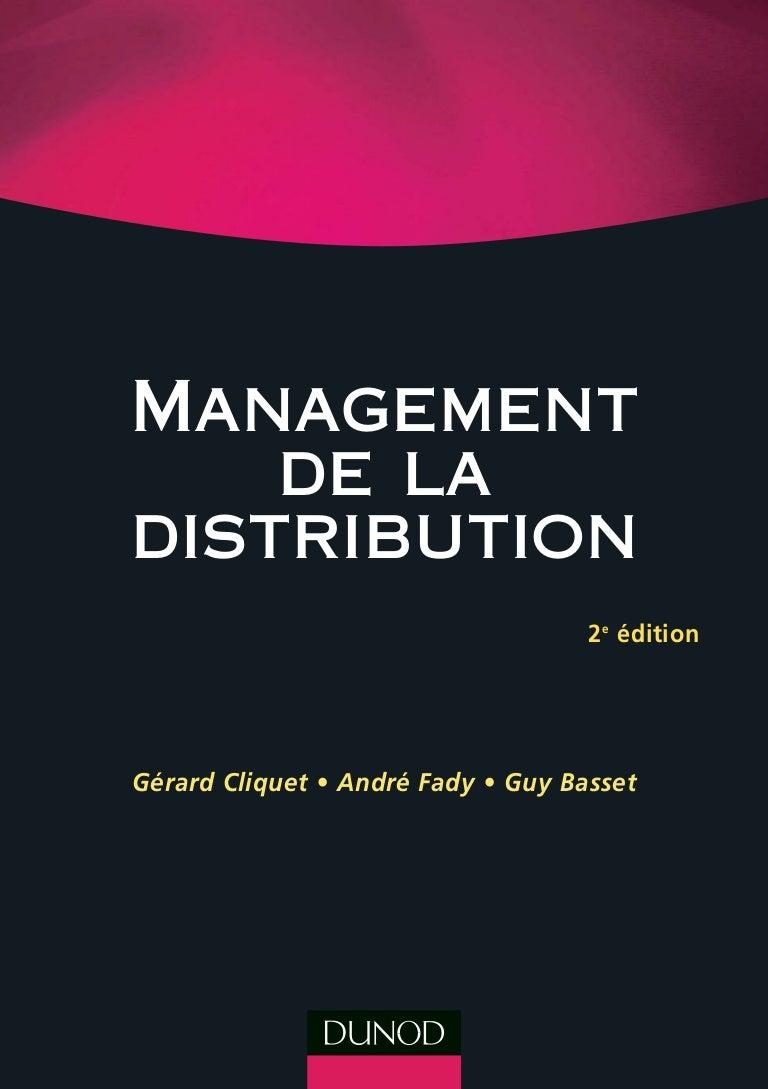 Management de la distribution