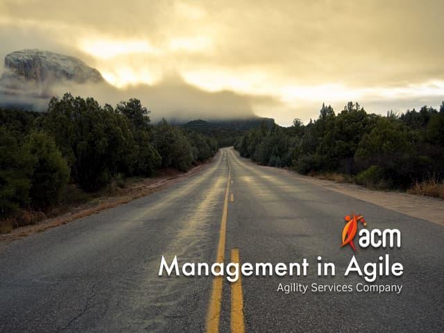 Ahmet Akdağ, ACM - Management in Agile | Agile Greece Summit 2015