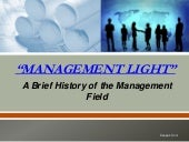 Management Light