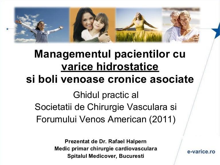 istoria intervenției chirurgicale varicoză)