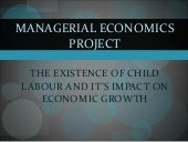 Child labour and its impact on econ...