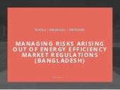 Managing Risks from Emerging #EnergyEfficiency Markets