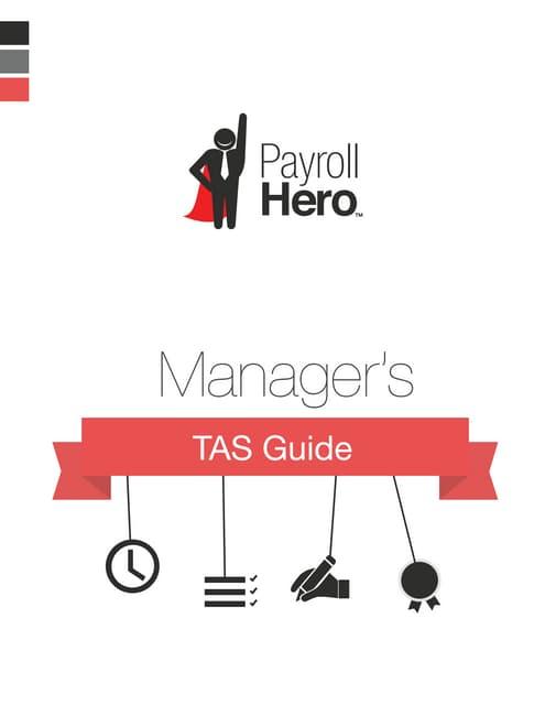 PayrollHero Manager's TAS Guide