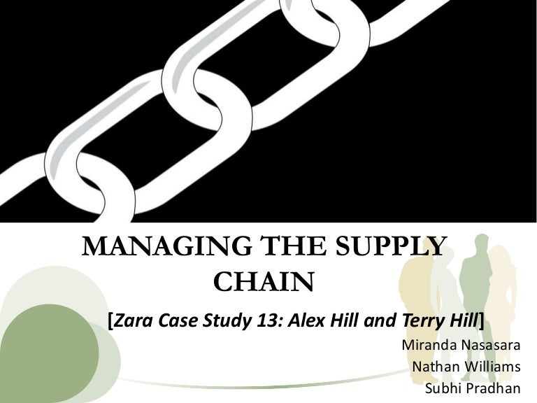 zara supply chain essay The purpose of this essay is to discuss different supply chain management approaches taken by h&m, benetton and zara it is first necessary to explain what a supply chain management means.