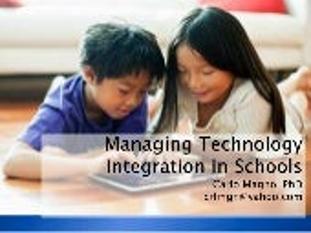 Managing technology integration in schools