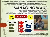 Managing Waqf in Turkey and Malaysia for Educational Development. The Best Proposed Model