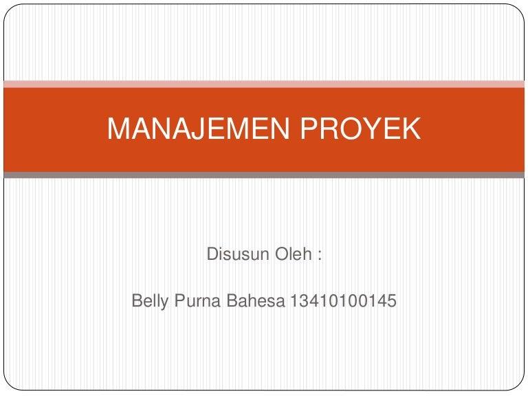 Manajemen konstruksi ppt