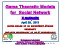 Lecture5:Social Network Analysis-By Dr. Y. Narahari