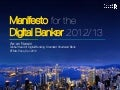 Manifesto for the Digital Banker