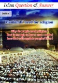 Mankind's need for religion ( Islam Q&A )