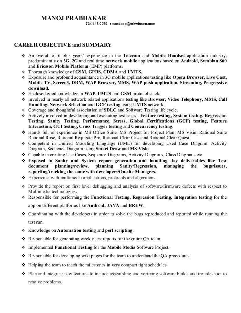 Qa Resume Samples Resume Format Download Pdf Area Sales Manager Cover  Letter Tester Resume Qa Tester
