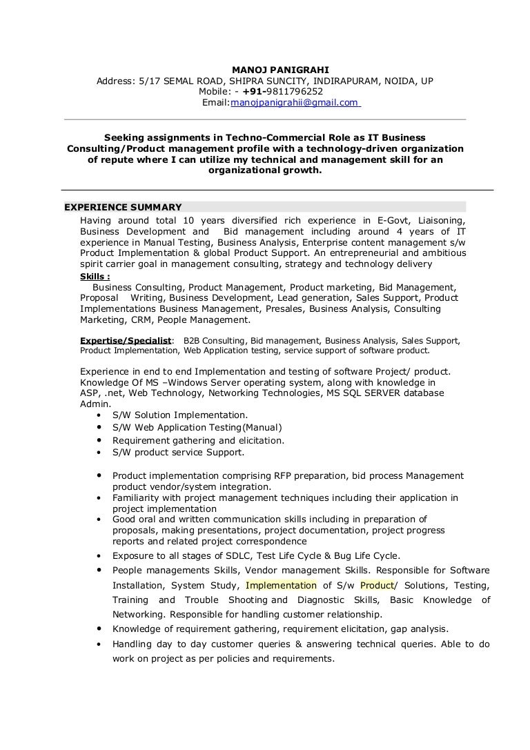 executive secretary job resume - People Soft Consultant Resume