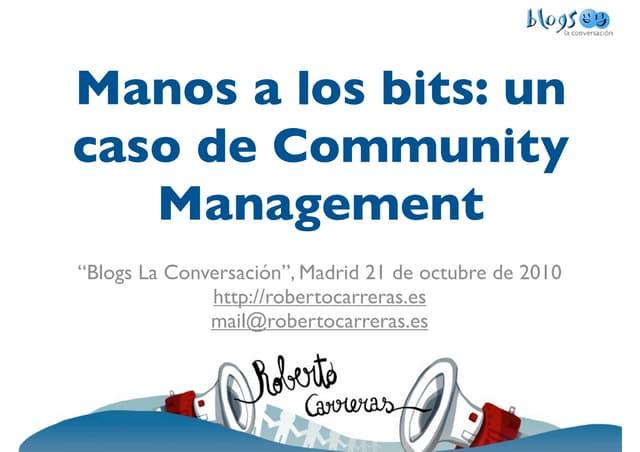 Comunnity Management - Blogs La Conversación: Facebook