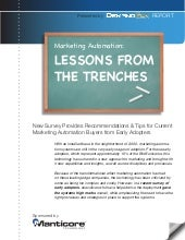 Marketing Automation: Lessons From The Trenches