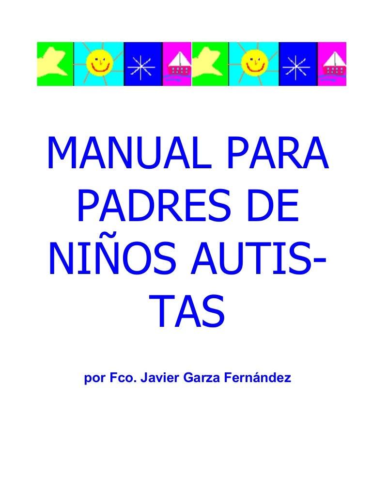 Manual Para Padres De Ninos Autistas