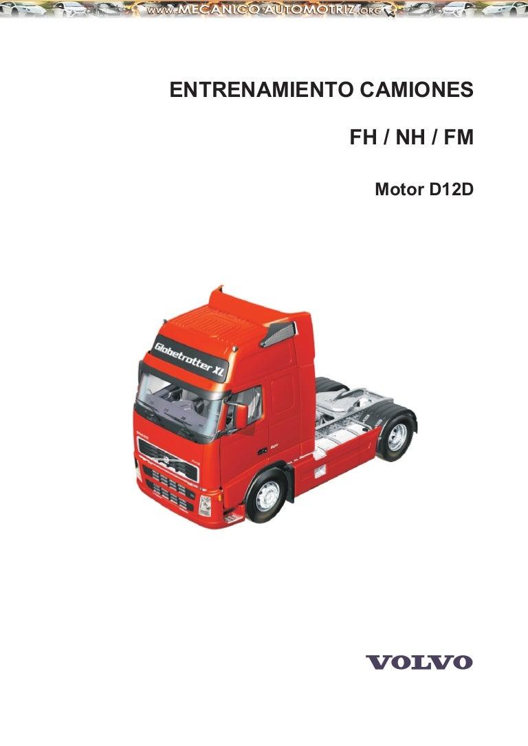 manual camiones volvo motor d12d rh es slideshare net Volvo VNL Bumper Guard Volvo D12 Truck Engines