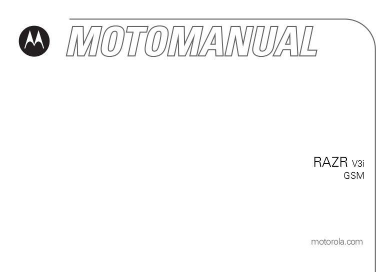 Manual motorola-razr-v3i-gsm