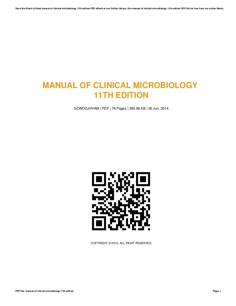 Manual of-clinical-microbiology-11th-edition