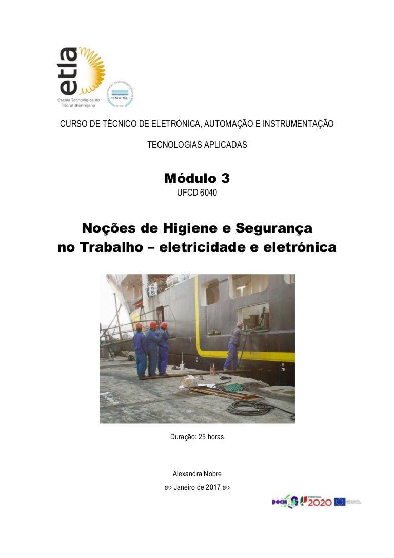 Higiene e Segurança no Trabalho ba70d45834