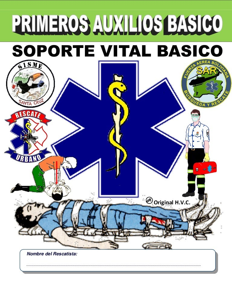 Manual 2016 Primeros Auxilios