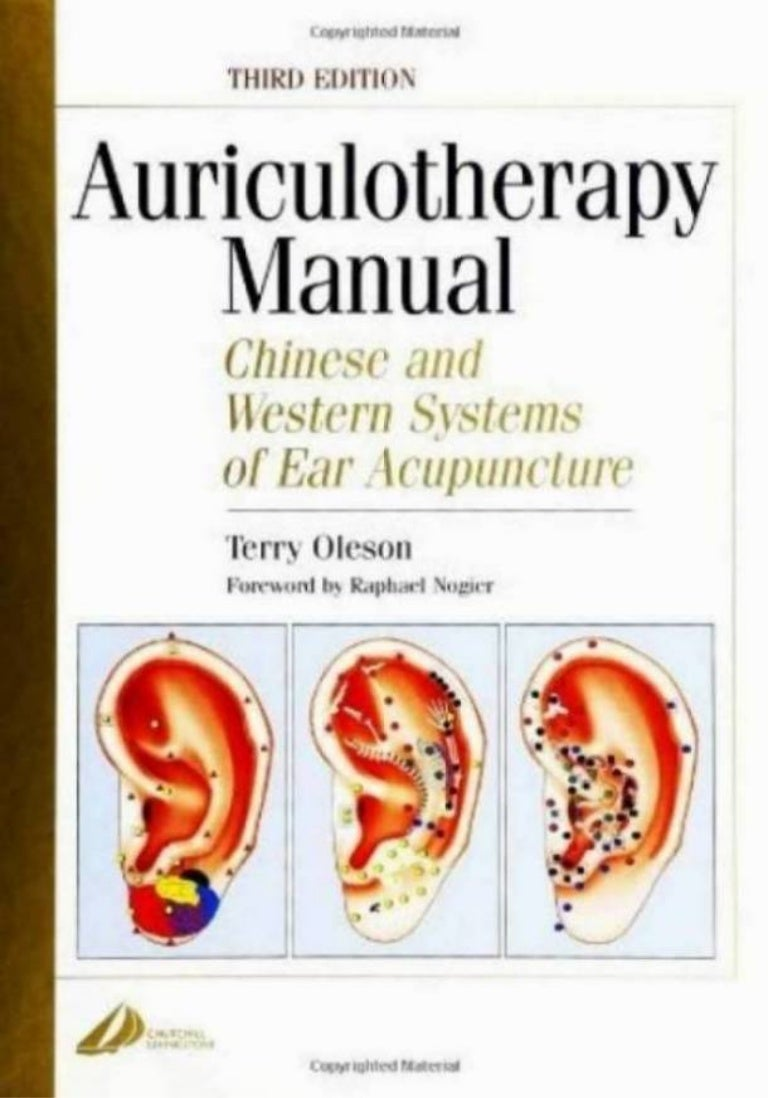 Manual auriculotherapy chinese and western systems of ear fandeluxe Gallery