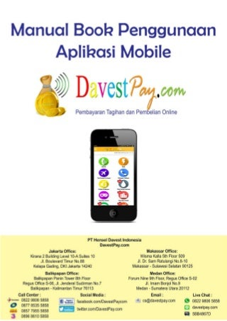 Manual Book Aplikasi Mobile DavestPay.com