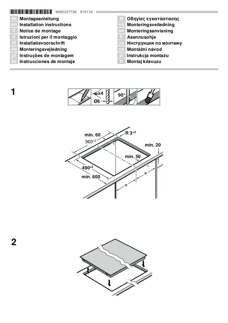 Manual bosch encimera vitrocerámica pkk675 n24e