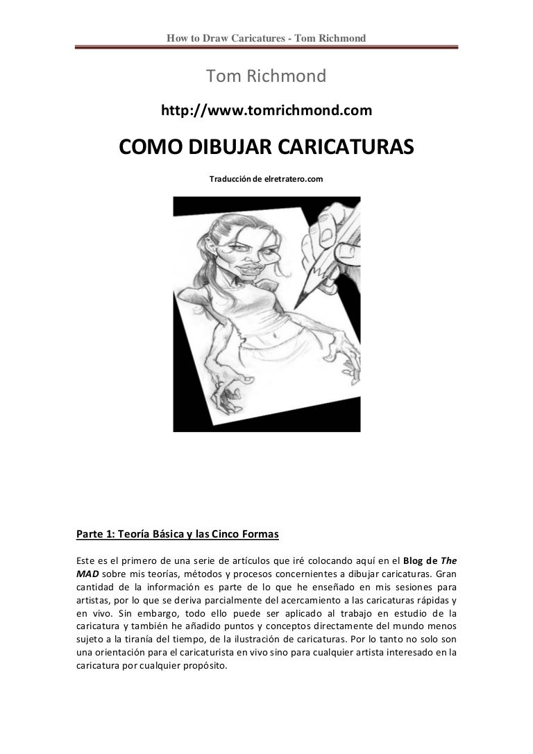 Manual de caricaturas